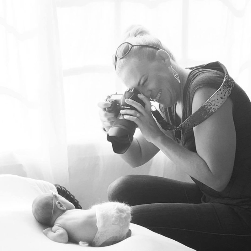 Orange County Newborn studio session