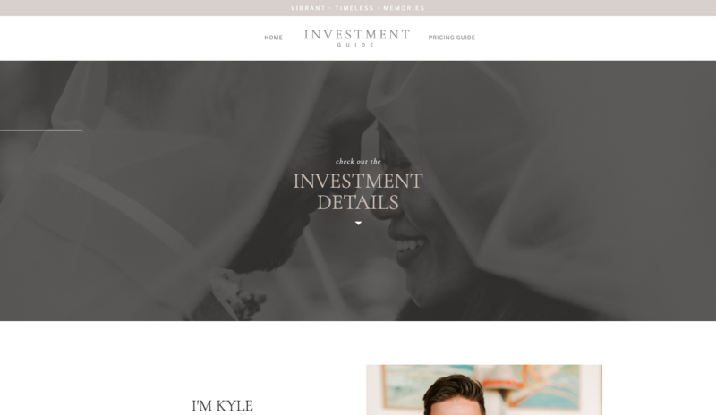 ShowIt Investment Guide Template by Kyle Goldie