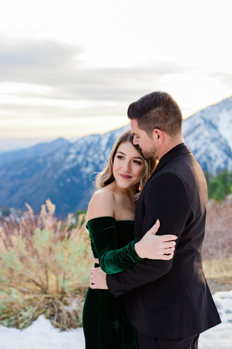 Wrightwood Shootout, Snow Engagement, Snow Elopement, Mountain Elopement, Yosemite Elopement, Wrightwood Elopement, Wrightwood Engagement, Mountainside Bride, Mountainside Elopement-41
