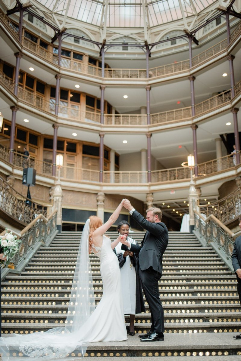 Cleveland Ohio Candid Wedding Marissa Decker Photography