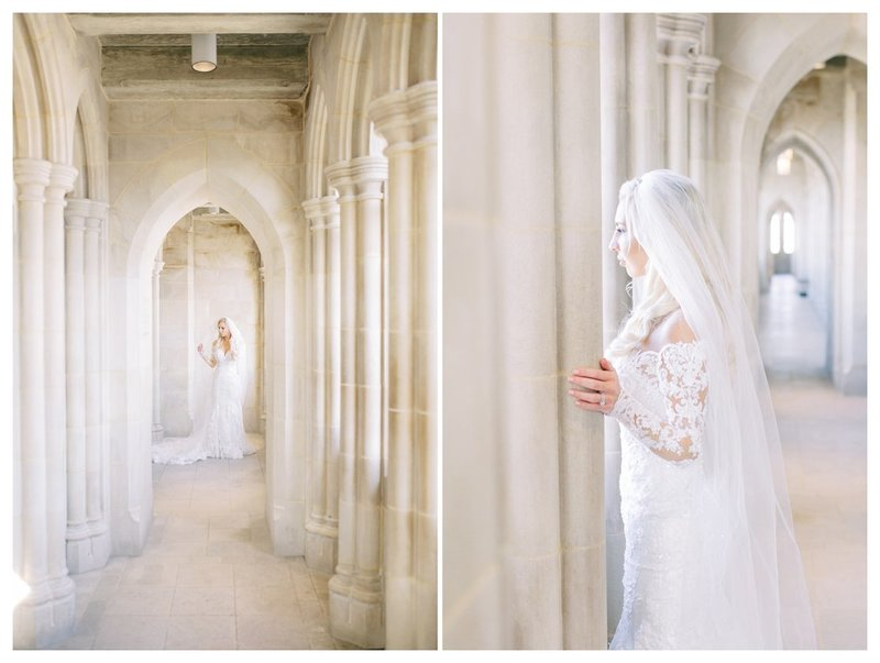 Bridal portraits at the National Cathedral. DC Wedding Photographer, VA Wedding Photographer, Destination Wedding Photographer.
