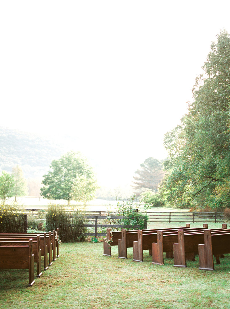 Huntsville Outdoor Backyard Wedding Ceremony
