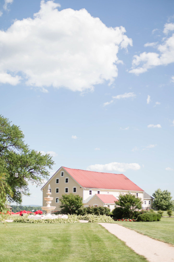 barn at springfield manor winery and distillery wedding by costola photography