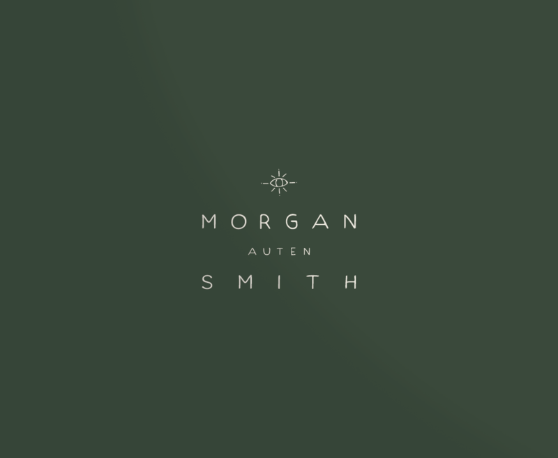 Primary logo for Morgan Auten Smith, a Gainesville based artist.