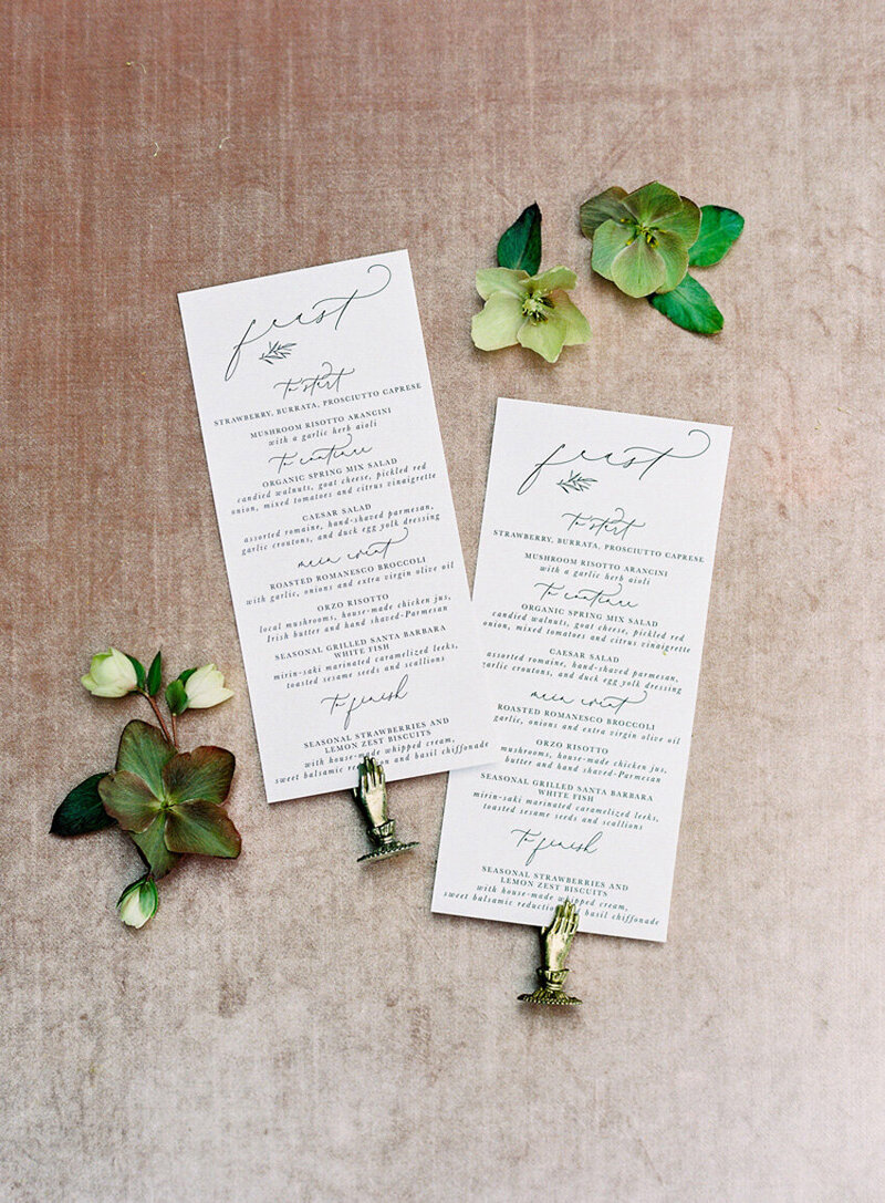 pirouettepaper.com | Wedding Stationery, Signage and Invitations | Pirouette Paper Company | Menus + Programs 61