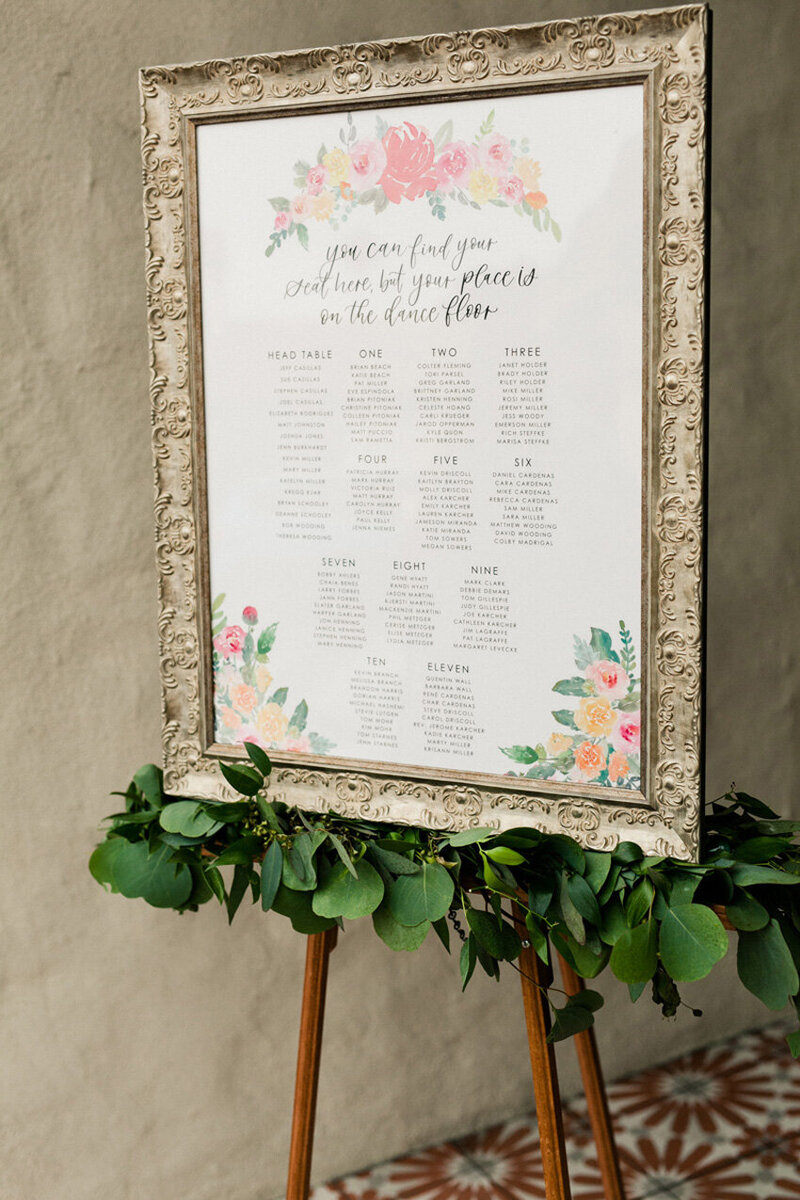pirouettepaper.com | Wedding Stationery, Signage and Invitations | Pirouette Paper Company | Seating Charts 13
