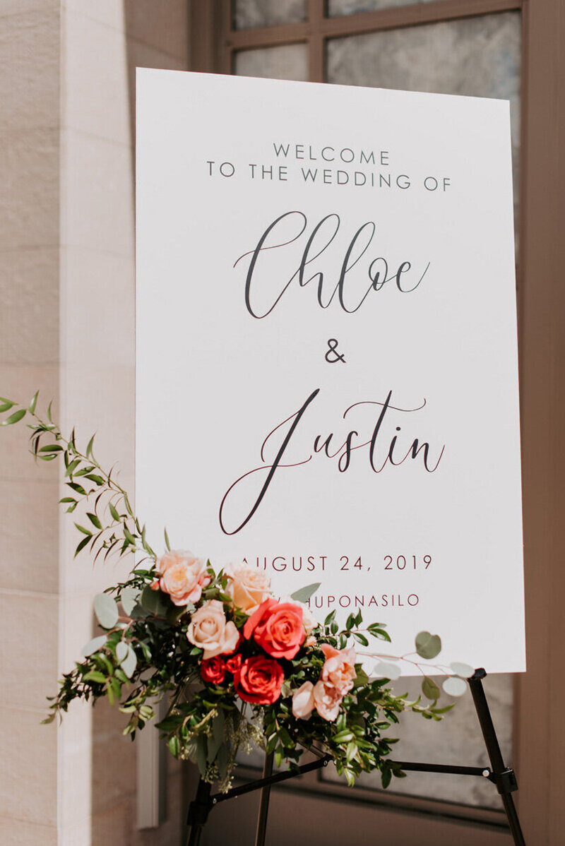 pirouettepaper.com | Wedding Stationery, Signage and Invitations | Pirouette Paper Company | Welcome + Unplugged Signs 11