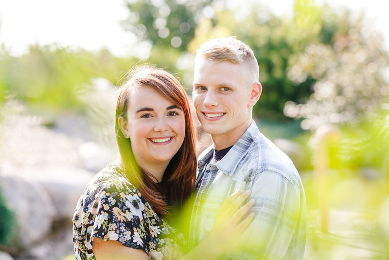 West Fargo Summer Couple Session