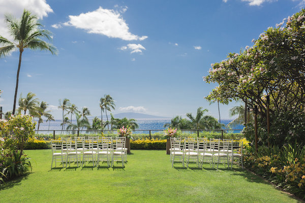 Maui wedding venue the  Four Seasons
