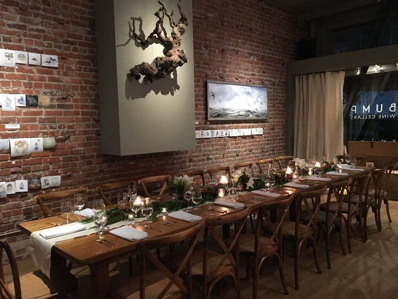 Holiday dinner by Jenny Schneider events in Sonoma, California.