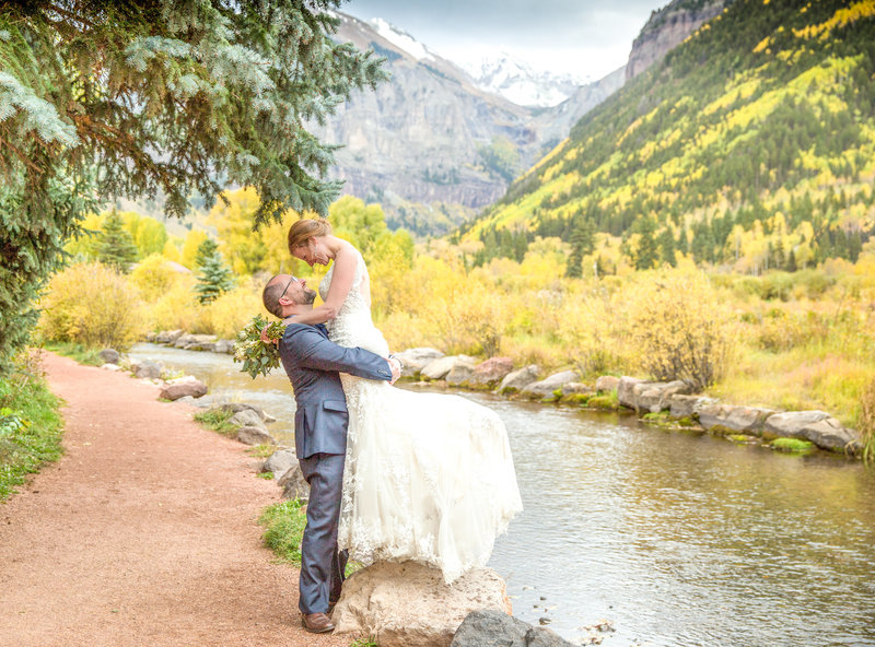 fall wedding in telluride colorado