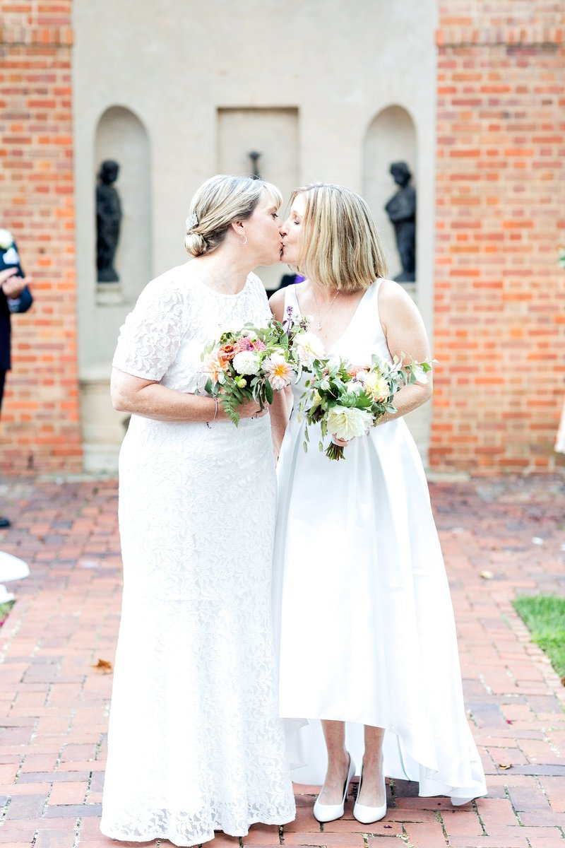 Same Sex Wedding The Dumbarton House DC Soleil and Katie Photography_0766