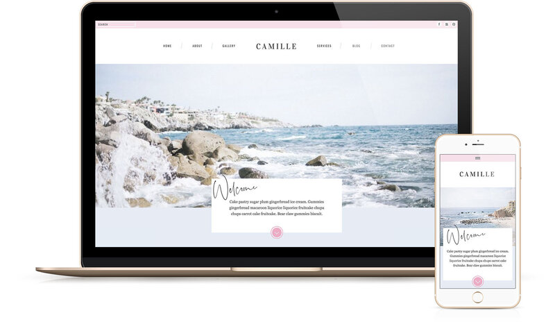 Showit Website Templates | Viva la Violet | Jacqueline