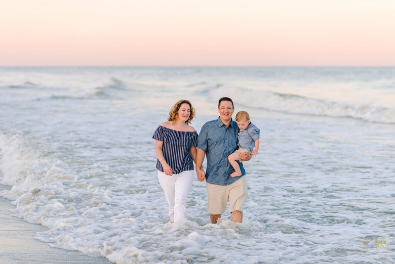 Family Beach Photos in Garden City, SC