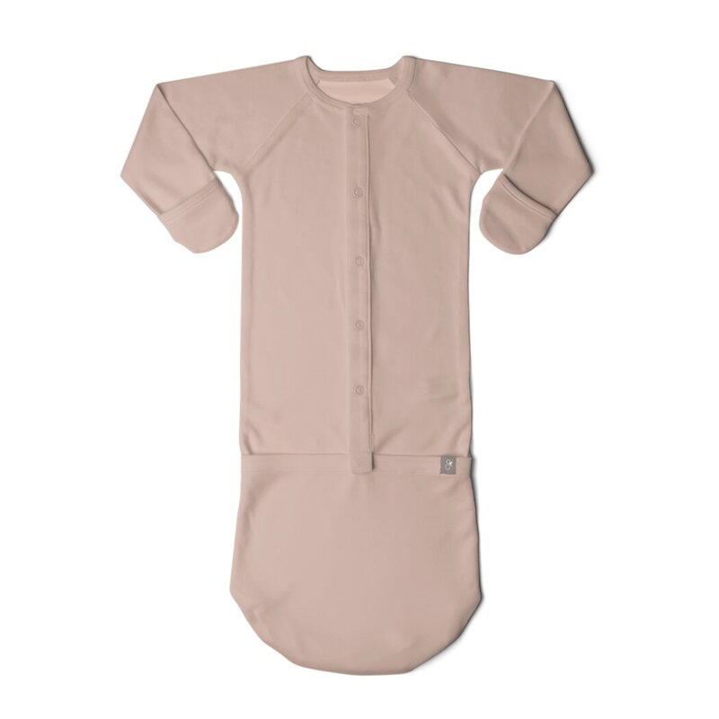 Goumikids-baby-gown-rose
