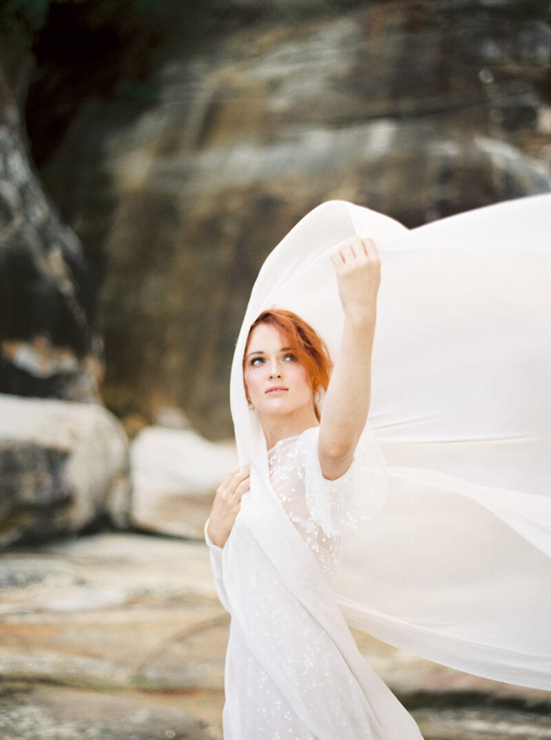 Sydney Fine Art Film Wedding Photographer Sheri McMahon - Sydney NSW Australia Beach Wedding Inspiration-00048