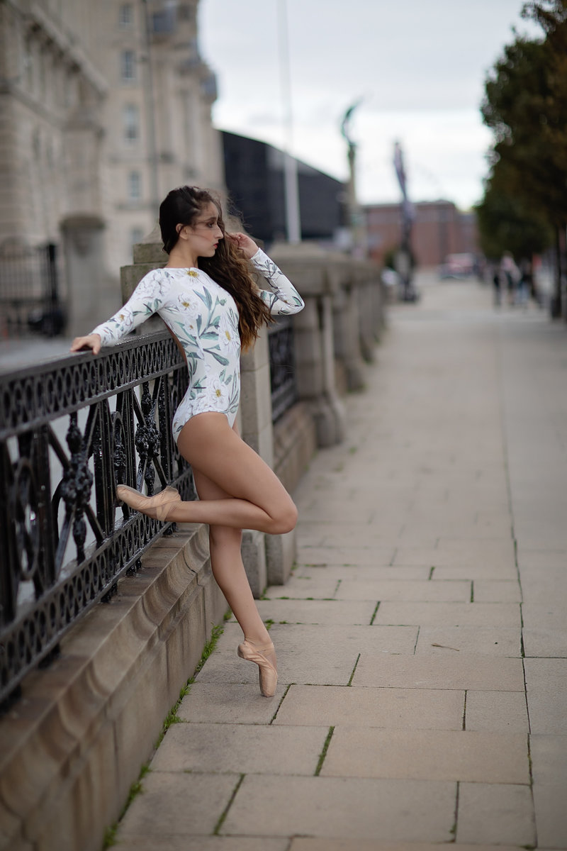 dancer in liverpool england ballet by collette mruk