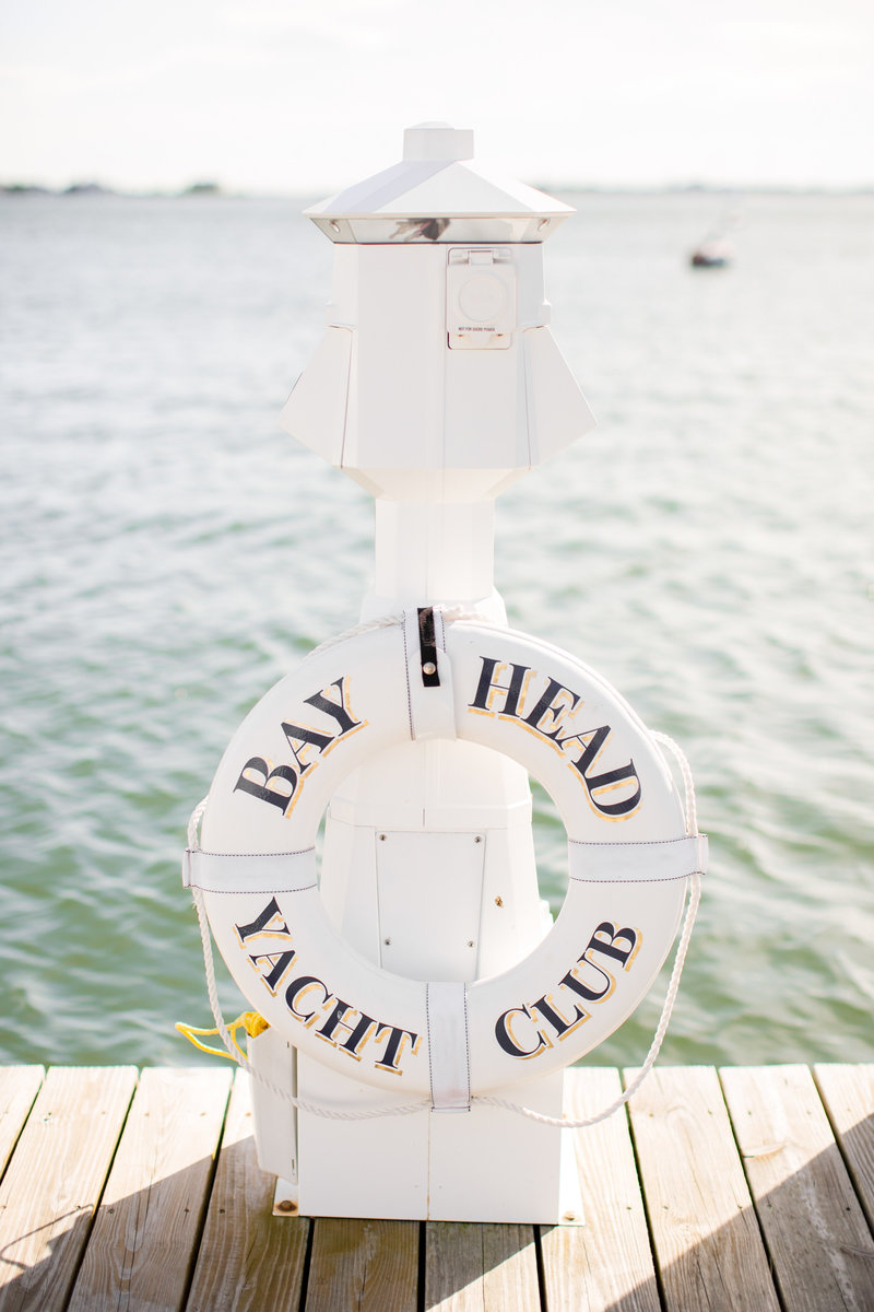 Bay Head Yacht Club NJ Wedding Venue