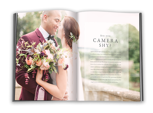 The Wedding Experience - Are You Camera Shy