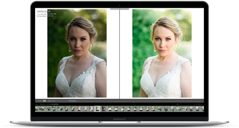 editing presets for weddings