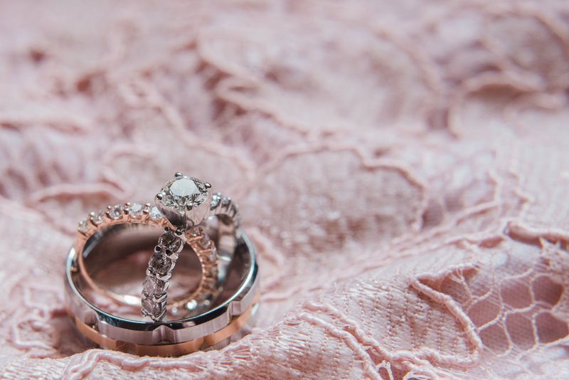 Red Deer Photographers-Raelene Schulmeister Photography- wedding photos-wedding ring photos-Nikon 105mm macro lens-diamond engagement ring and wedding band