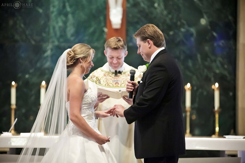 Saint-Thomas-More-Catholic-Church-Wedding-Ceremony-in-South-Denver