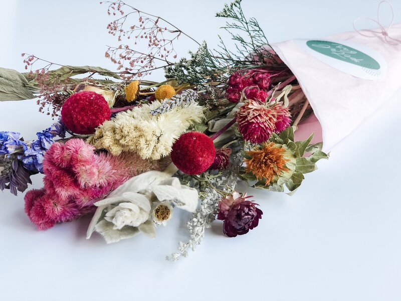 Bouquet of dried florals
