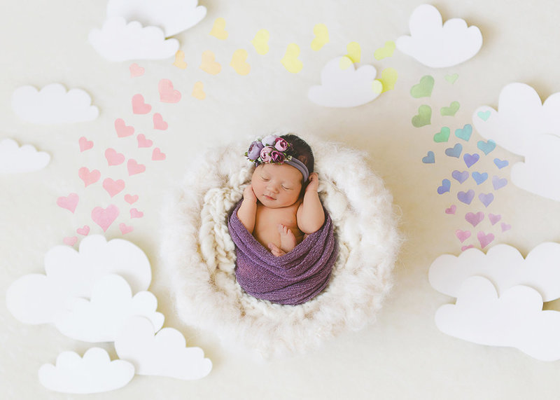 rainbow newborn small