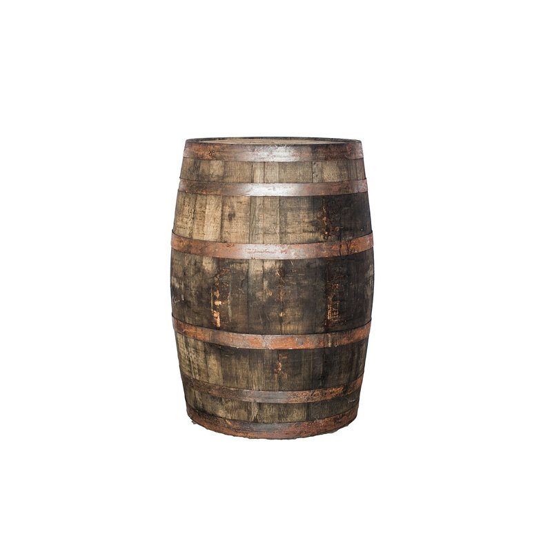 Old whiskey barrels.