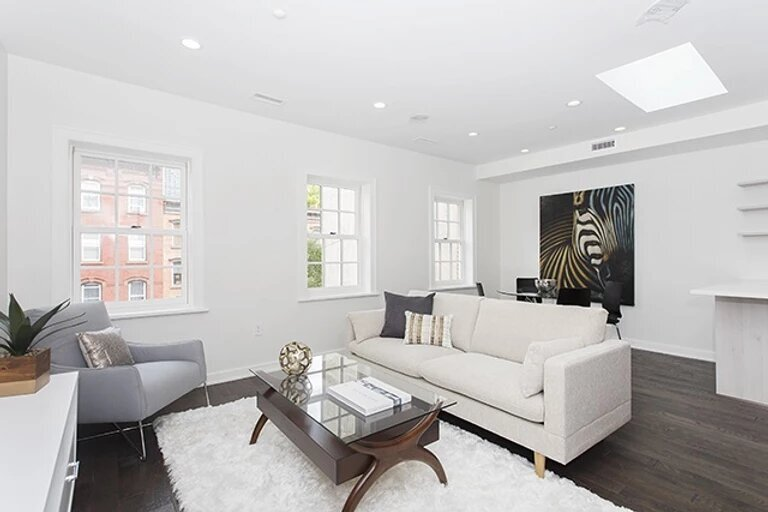 203 Warren St. jersey city staging by Simplicity Design Services