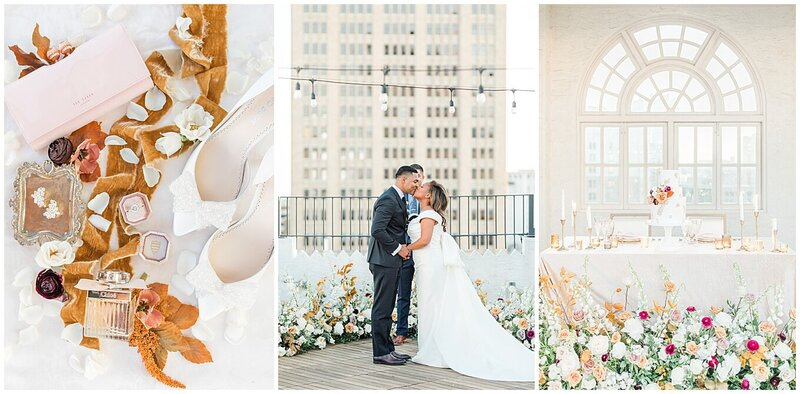 An intimate elopement wedding at The St Anthony Hotel in San Antonio by Allison Jeffers Wedding Photography
