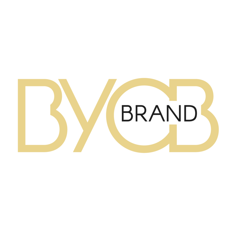 BYOBrand Podcast Logo for the Branding Podcast written BYOBrand The Podcast - Transparent