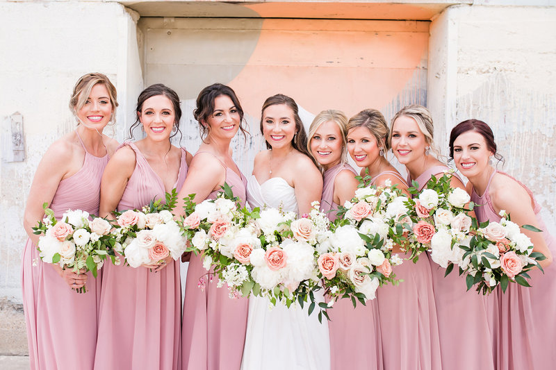 Brik Venue Fort Worth Bridal Party