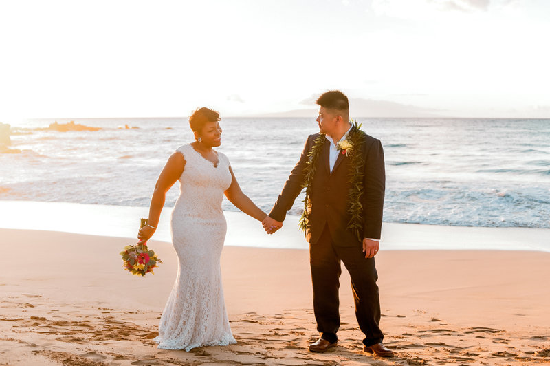 Four Seasons Maui wedding on Wailea Beach.