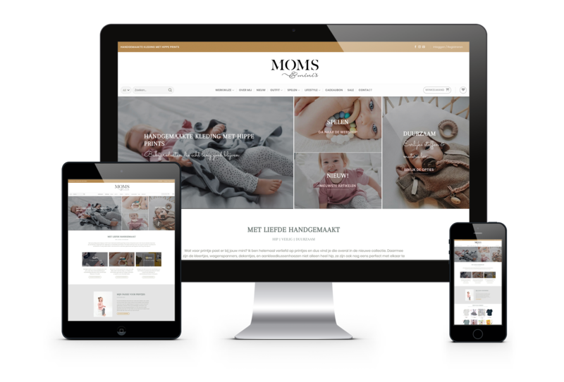 She factory nieuwe website Moms & Minis
