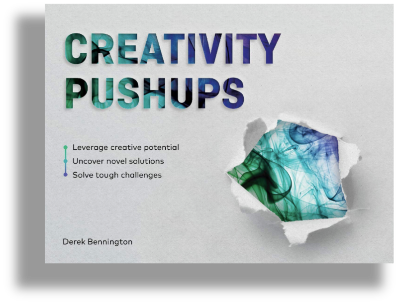 Creativity Pushups Book Cover Shadow