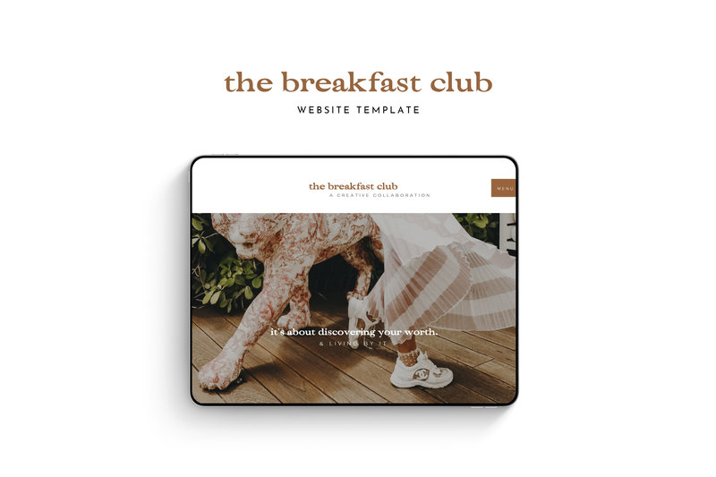 The Breakfast Club - Mockup 2