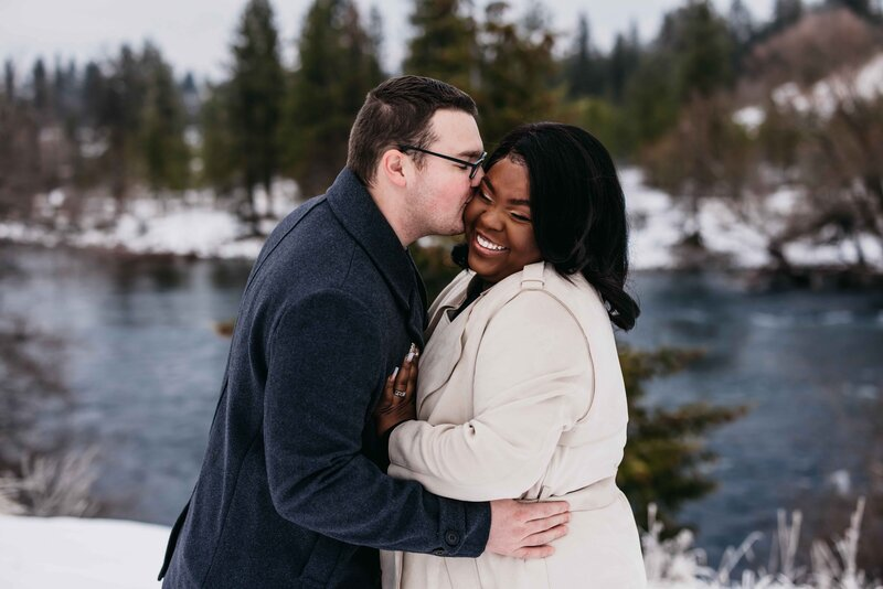 Engagement-Session-in-the-Snow-with-River - Clara Jay Photo