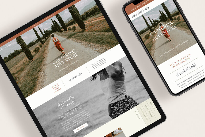 Service Showit Website Template | Website Templates for the Social Entrepreneur | Studio Humankind