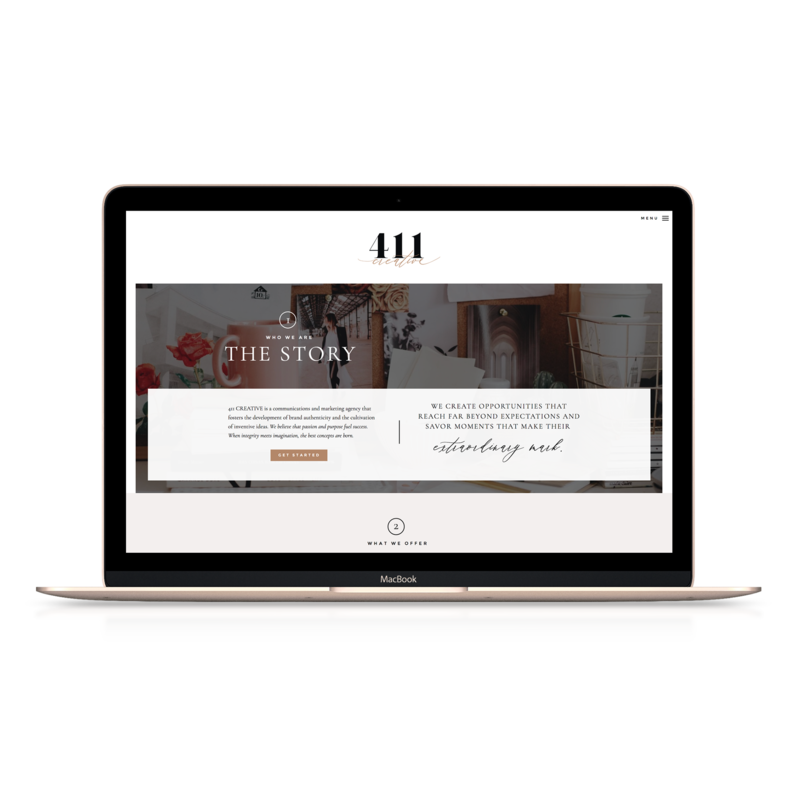 Handcrafting Heartfelt Websites + Branding for Female Creatives | by Viva la Violet |  Showit | Uncommon James