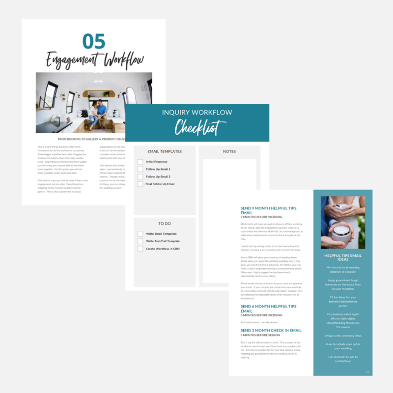 Comple Wedding Workflow Guide - Pages 2