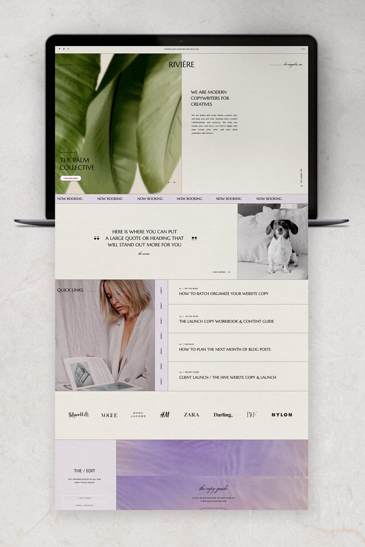 Easy-to-Edit Showit Website Templates for Creative Businesses, Stylish Showit Template Shop, Modern Social Media Templates, Saffron Avenue, www.shopsaffronavenue.com