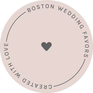 Brand Design for Boston Wedding Favors • Custom Gift Boxes • Creative Business Branding