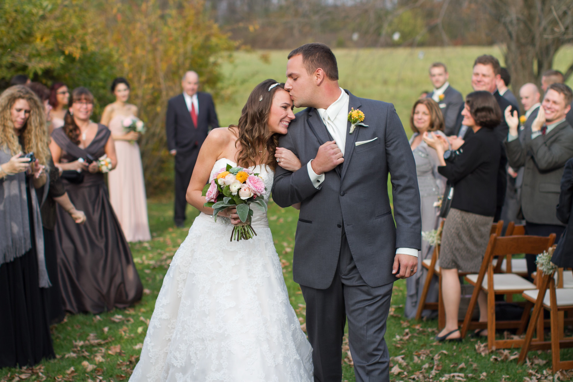 Videographers capture the sweet moments and sounds of your wedding day.