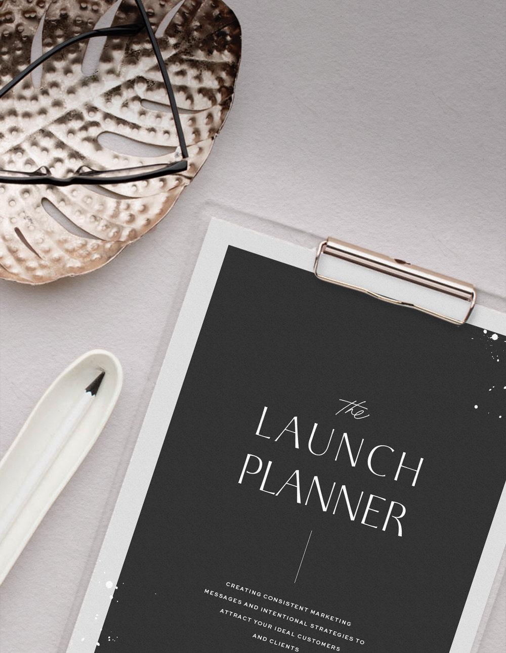 Creative & Strategic Launch Kit, Launch Planner, and Launch Guides. Easy-to-Edit Website Templates for Creative Businesses, Showit WebsiteTemplate Shop, Modern and Bold Social Media Templates, Saffron Avenue, www.saffronavenue.com