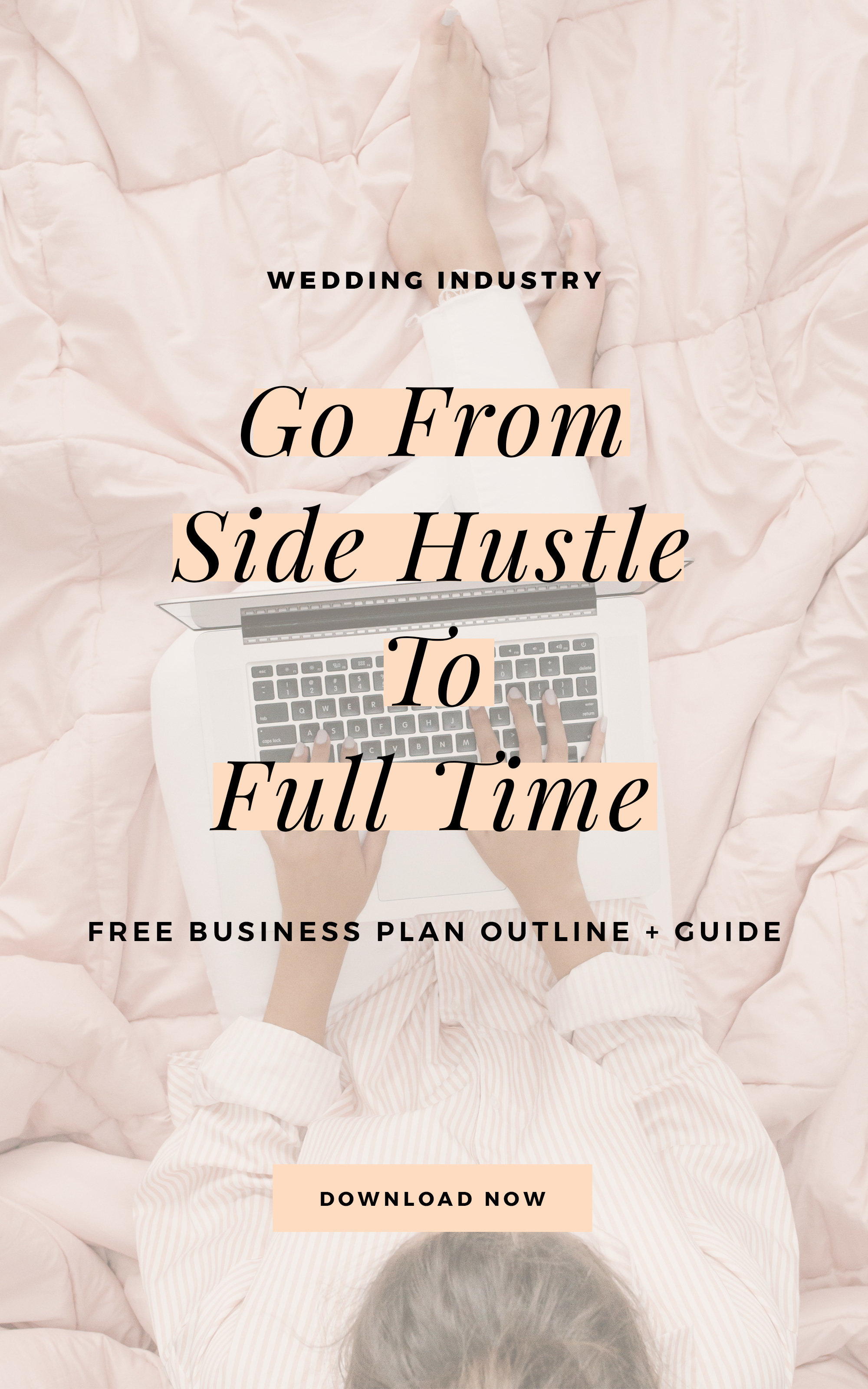 Struggling to write your business plan for your wedding photography business? Download this free wedding photographer business plan template!