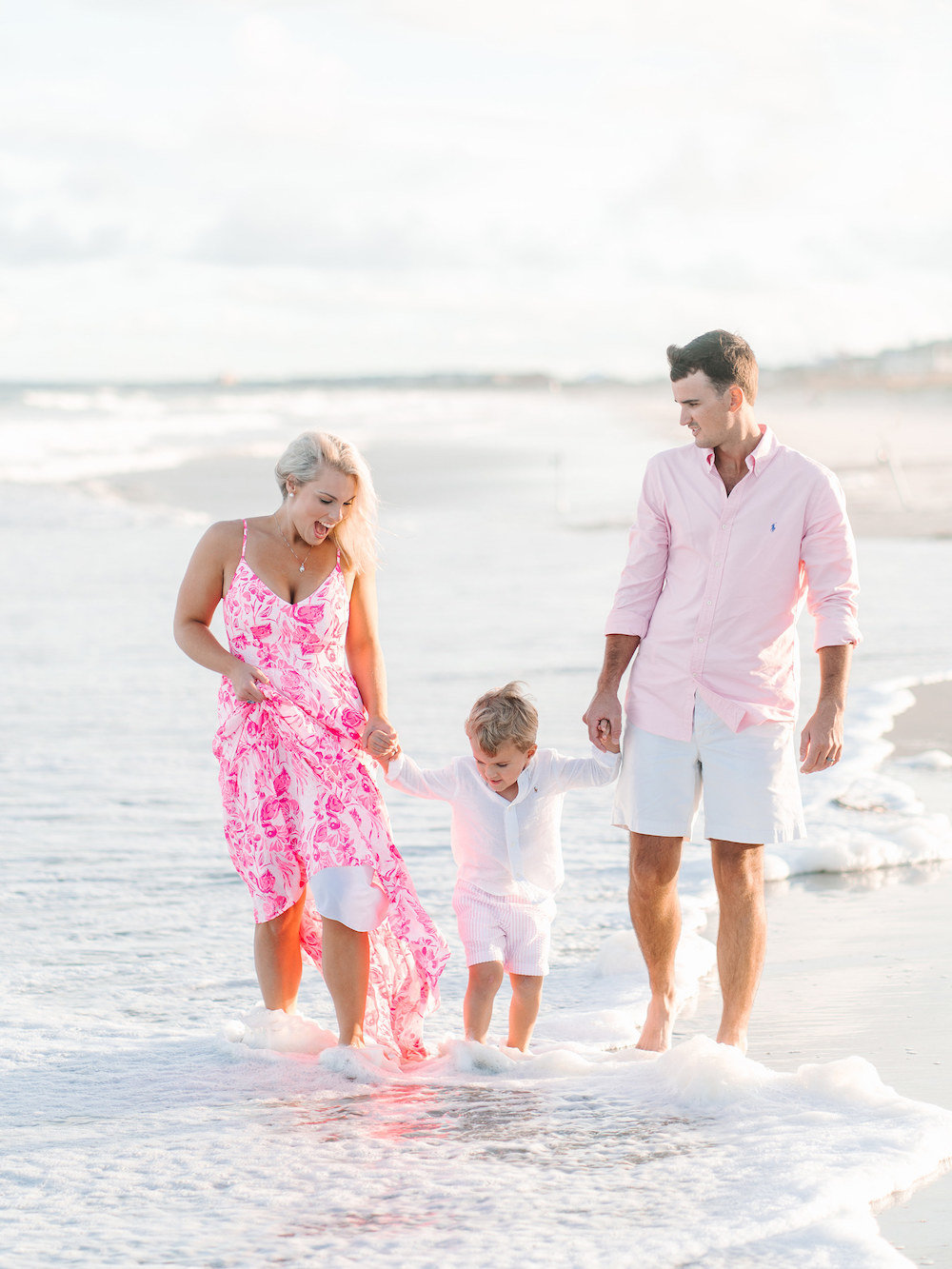 Myrtle Beach Family Photos - Myrtle Beach Photographer - Beach Family Pictures by Pasha Belman