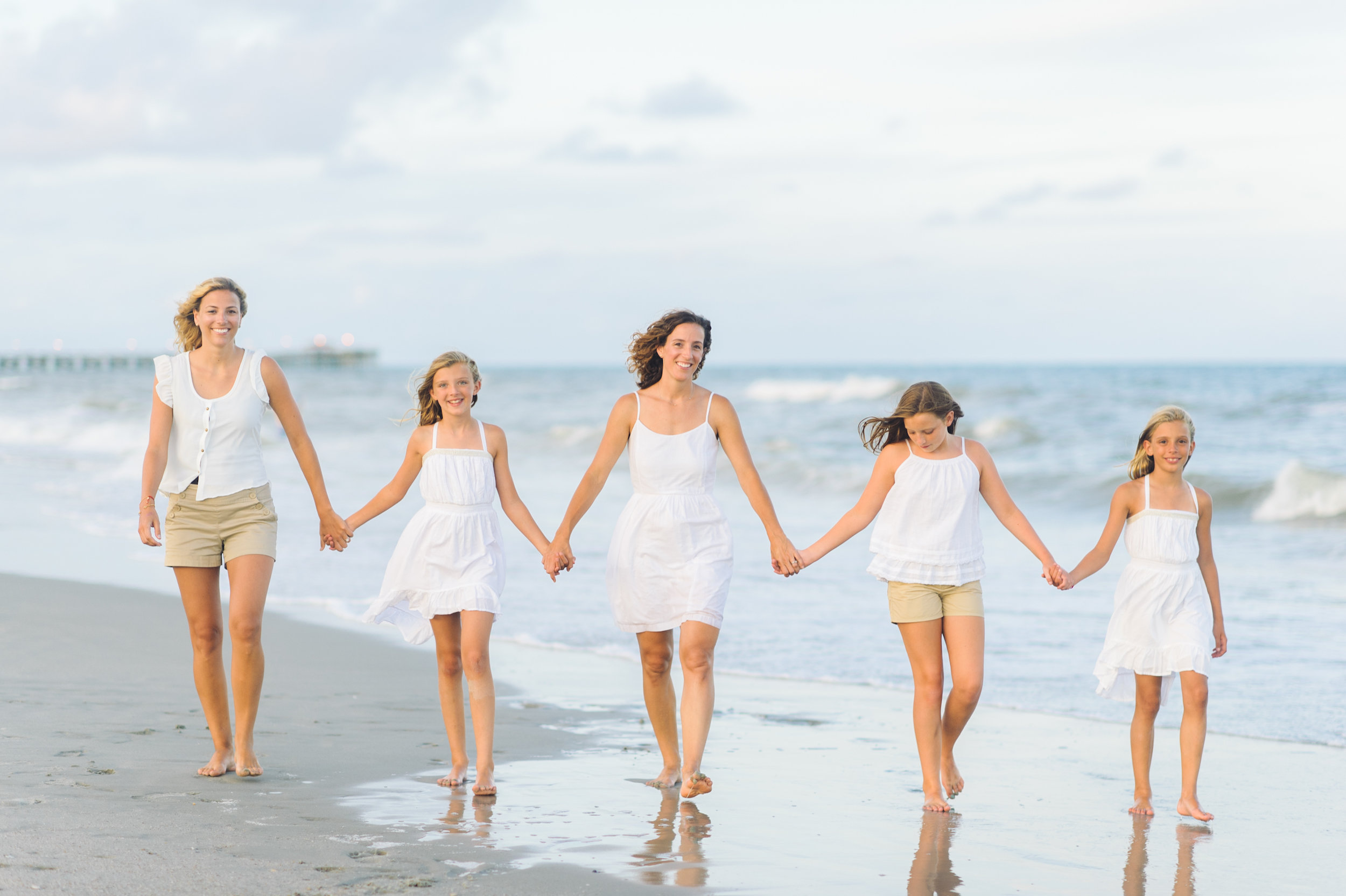 Pawleys Island SC Family Photography - Family Portraits at the Beach in Pawleys Island