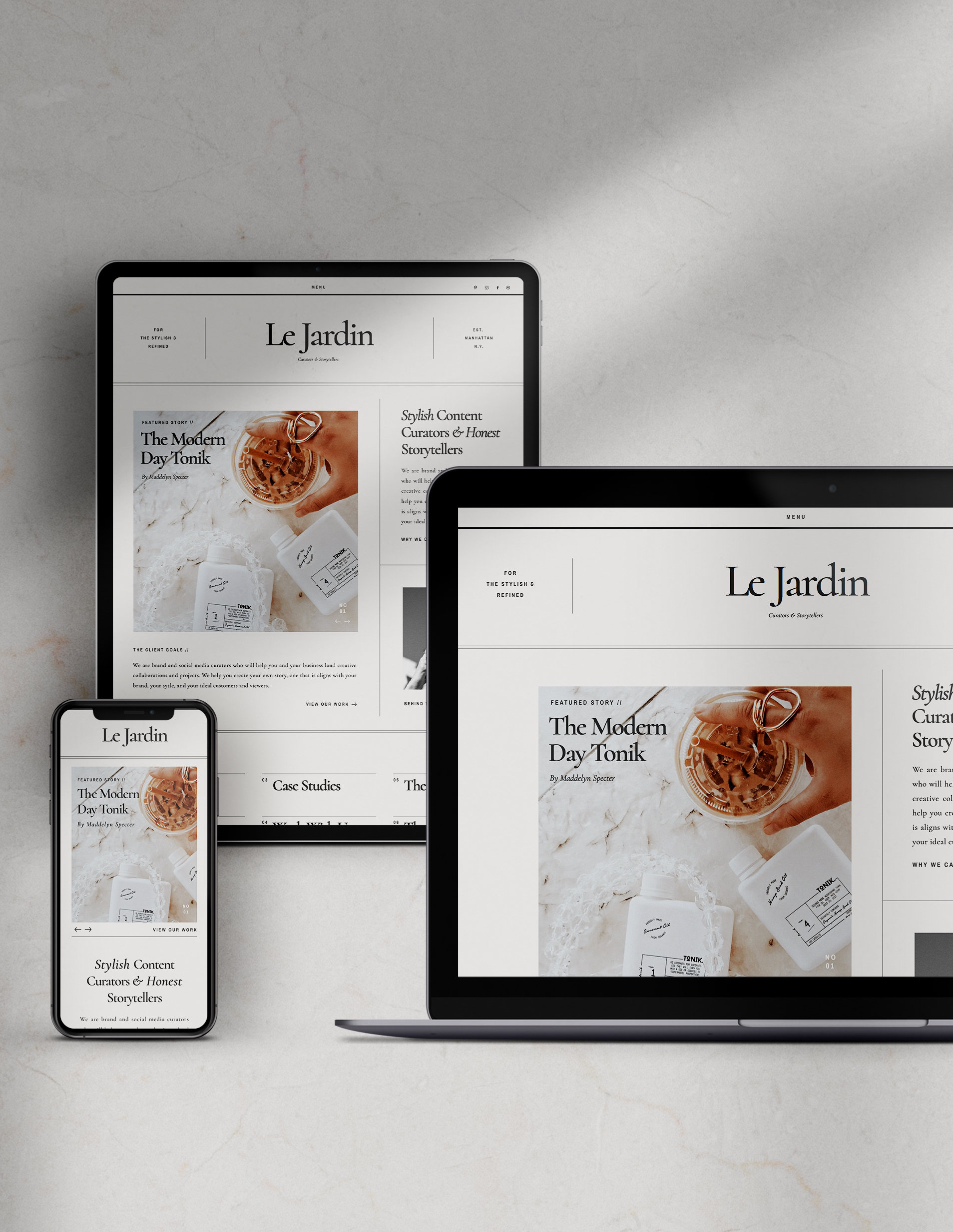 Easy-to-Edit Website Templates for Creative Businesses, Showit WebsiteTemplate Shop, Modern and Bold Social Media Templates, Saffron Avenue, www.saffronavenue.com