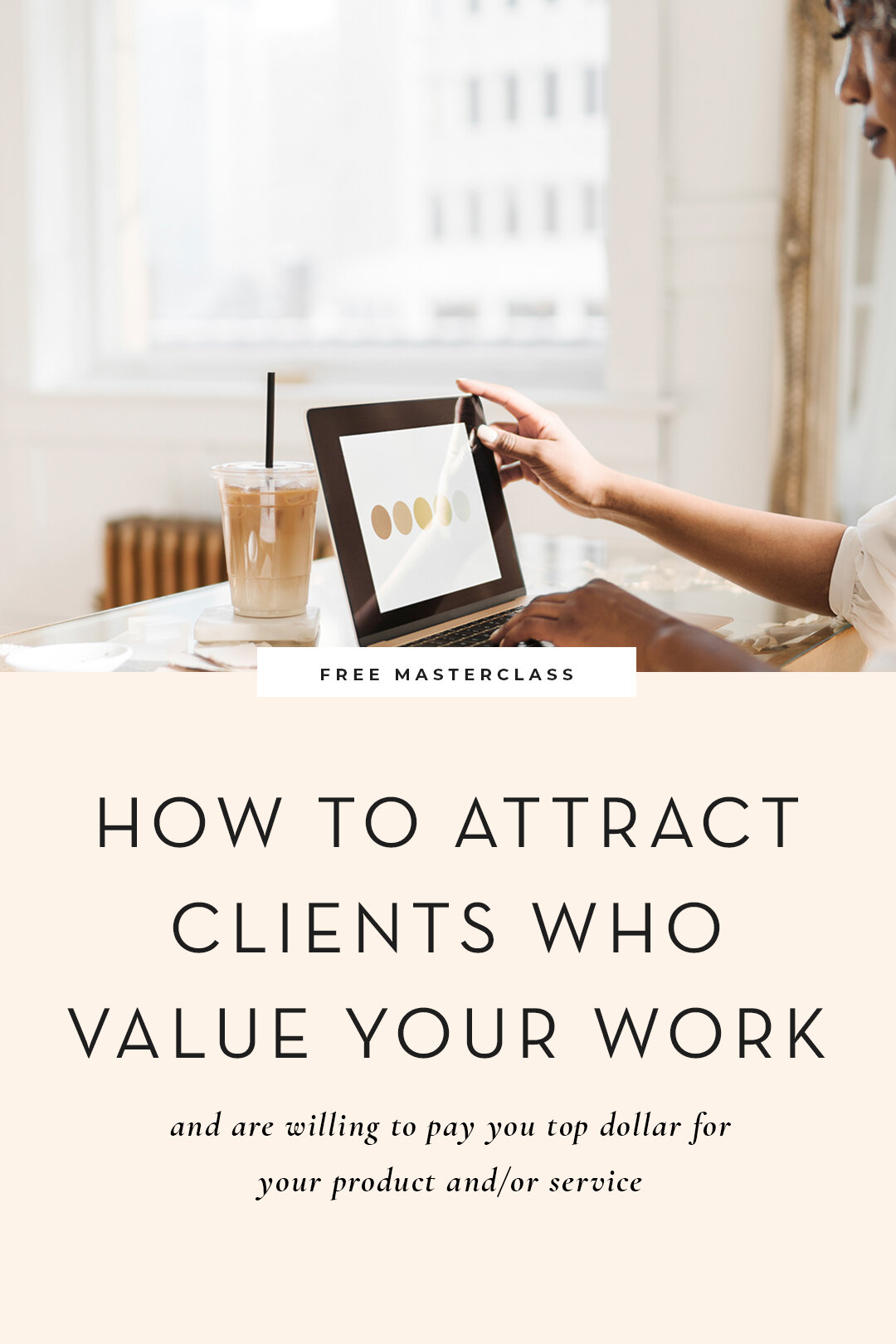 Are you a wedding pro looking to attract MORE of the right people? My free, on demand training will walk you through how to attract, sell and serve your ideal customers.